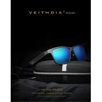 Lentes De Sol Espejado Polarizado Uv400 Aluminio Veithdia