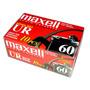 Fita Cassete K-7 Maxell Ur60 Audio Cassete Caixa C/10 Fitas