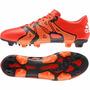 Guayos Adidas Cuero Botines Botas Futbol X 15,1 Fg/ag