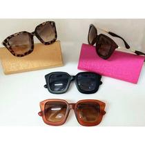 Moda Verão Óculos De Sol Feminino Sofisticado