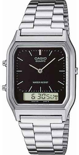 0a8f8d6dc9d Relógio Casio Masculino Vintage Aq-230a-1dmq - R  259