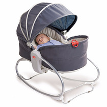 Cadeira De Balanço Tiny Love Cozy Rocker Napper Grey
