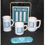 Escudo, Chop, Taza Y Canopla De Racing