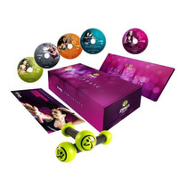 Zumba Fitness 5 Videos + Mancuernas Toning Sticks Tonificate
