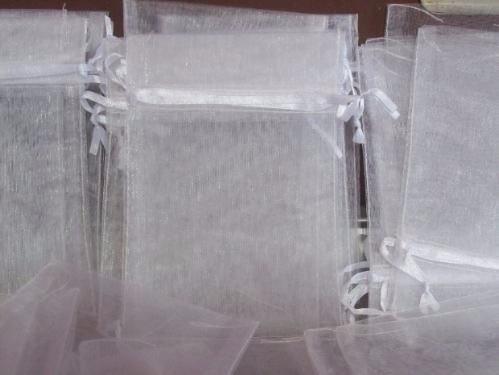 77b1f0b87 20 Bolsitas De Organza Bolsas Blancas 13x17cm Souvenirs - $ 119,99 ...