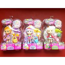 3 Pack Shoppies Shopkins Rainbow Kate Pam Cake Y Sara Sushi