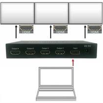 Adaptador Laptop Video-wall Win I-mac Macbook-pro Hasta 4 Tv