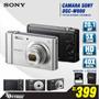 Camara Sony 20.1mp W800, 5x Zoom, Hd,estuche+sd 8gb, Nueva