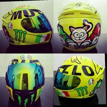Capacete Valentino Rossi K3 Mugello Monster Lançamento