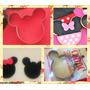 Cortante Mickey Minnie Grande Tortas Galletitas Porcelana