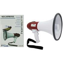 Megafono Altavoz 15 Watt Reproduce Voz, Musica Y Graba