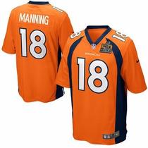 Jersey Nfl Nike Peyton Manning #18 Denver Broncos Superbowl