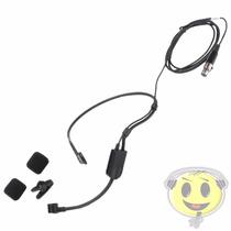 Microfone Shure Headset Pga31 Tqg P/ Sistemas S/fio Kadu Som