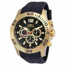 Relógio Invicta Pro Diver 20300 - Preto Dourado Masculino