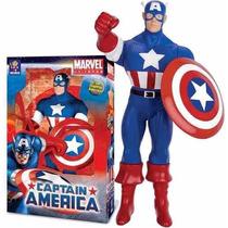Boneco Marvel Capitão América Gigante 55 Cm - Mimo Original