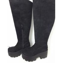 Bucanera Gamuzada Mujer Zapato Bota Talle 35 Ultima!! Costo