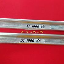 Soleira Estribo De Porta Em Aluminio Para Fusca 1600 Todos