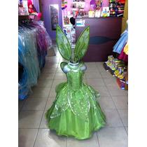 Vestido Disfraz Campanita, Tinker Bell.
