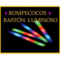 Baston Rompecocos Goma Espuma Cotillon Luz Led X 100!!