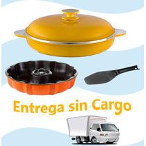 Paellera Soleil + Savarin Essen - Ahorre Gas Y Cocine Sano