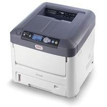 Impressora Oki C711 Wt C711wt Laser Colorida Seminova Branco