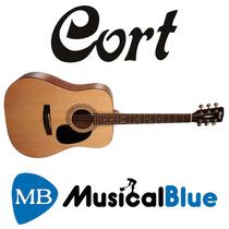 Guitarra Acustica Cort Dreadnought C/ Funda Ad810-op