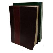 Biblia De Estudio Del Diario Vivir Piel Cafe Ntv