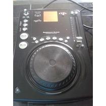 Cd Player American Audio Cdi 300 Mp3 Discplay Dj Luces