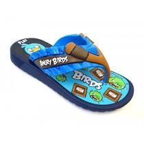 Chinelo Angry Birds Flat 21317 Grendene - Azul/azul