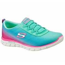 Zapatos Skechers Para Damas Flex Appeal 22706-grpk