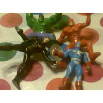 Muñequito Jack Super Heroes Hulk Daredevil Ctan Retro Kxz