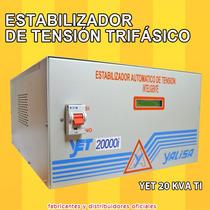 Elevador Estabilizador Automatico Tension Yet 20000i 20 Kva
