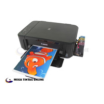 Impressora Canon Pixma Mg3610 + Bulk De 400ml Tinta Corante