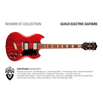 Guild Guitarra Electrica S100 Polara Newark Hendrix Music