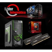 Computador Gamer Fx 6300+8gb Hyper+gtx 960 4gb!!!