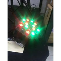 Paquete De 4 Piezas Disco Cañon Led Dmx Par Alta Luminosidad