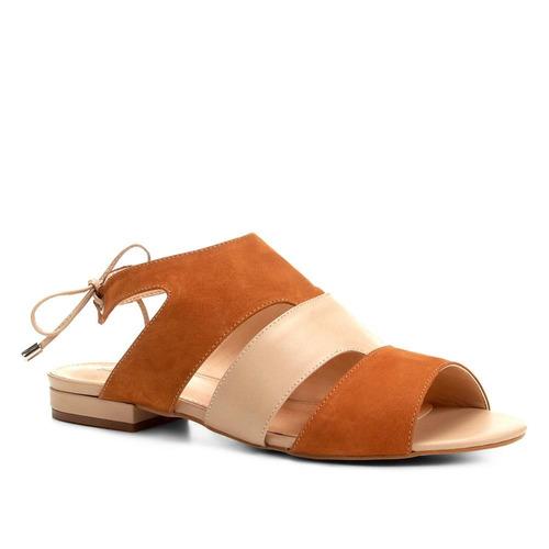 0d6a50b27c Rasteira Couro Shoestock Mix Cores - R$ 89,90 em Mercado Livre