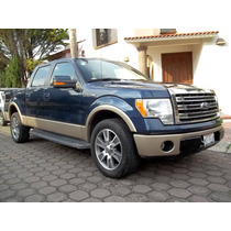 Ford Lobo Lariat Doble Cabina, Mod. 2014, Color Azul Marino