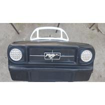 Carrito De Pedales Emblema Parrilla Mustang