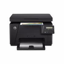 Impresora Multifuncional Hp Lj Color Pro M176n