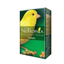 Nutrópica® Canário Frutas. Ração Premium De Alta Qualidade.