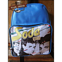 Mochila Retro Soda Stereo - Hija India