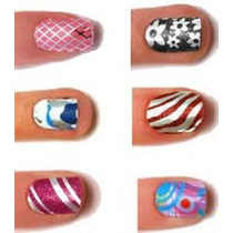 # Calcomanias Sticker Uñas Esmalte Manicure 3d Decoración