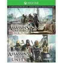 Assassins Unity Y Blackflag Juego Descargable Para Xbox One