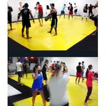 Lona Tatame Amarelo Octogno Piso Treinamento Academia 13x5 M