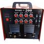 Maquina Solda Tig Ac Dc Mma Wsme 200a Aluminio Inox Pulsada