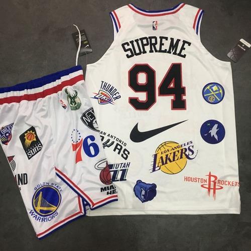 32dca80313 Kit Camiseta + Bermuda Supreme Nike Nba - R  120