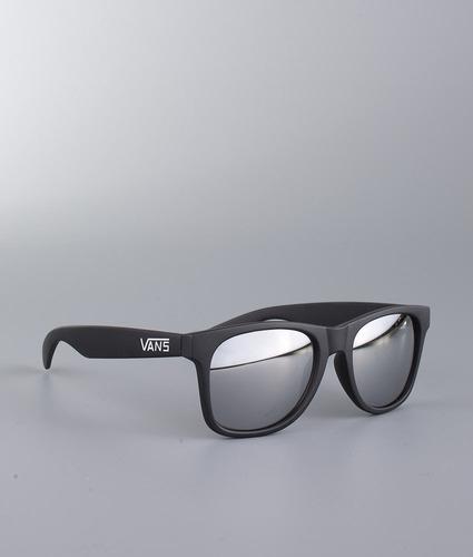 7c9720c8a6c7f Óculos Vans Spicoli 4 Shade Matte Preto Espelhado Original!! - R  126