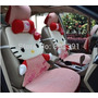 Accesorios Coche Auto Hello Kitty 12 Piesas Envio Gratis