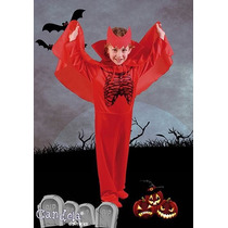 Disfraz Halloween Diablo Completo Con Vincha! Jiujim
